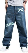 Sexyggs Fashion Fat Men's Plus Size Jeans Trousers Loose Skateboard Pants
