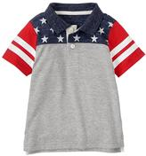 Gymboree Flag Polo Shirt