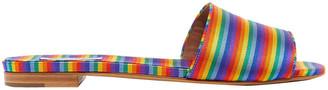 Tabitha Simmons Sprinkles Metallic Knitted Slides