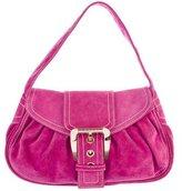Celine Suede Handle Bag