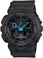 G-Shock Men's Analog-Digital Dark Gray Resin Strap Watch 51x55mm GA100C-8A