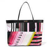 Missoni Leather-trimmed printed canvas tote