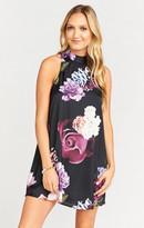 MUMU V-Right Back Mini Dress ~ Scarlett Rose