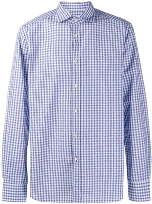 Corneliani Gingham Print Shirt
