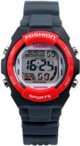 Time100 Kids' Digital LCD Rubber Multifunctional Alarm Boy's Girl's Sport Electronic Watch W40011L.05A