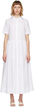 STAUD White Guilia Dress