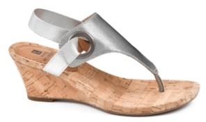 White Mountain Women's Aida Cork Wedge Sandals Women's Shoes