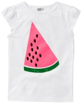 Crazy 8 Sparkle Watermelon Tee