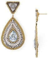 Miguel Ases Beaded Teardrop Earrings