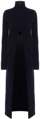 Jil Sander Mohair-blend longline sweater