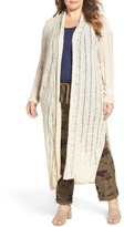 Lucky Brand Plus Size Women's Duster Cardigan