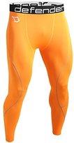 Defender Sports Defender Men's Compression Baselayer Pants Legging Shorts Tights Hockey OR_S