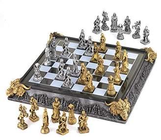 Camilla And Marc Sunshine Megastore Mediaeval Chess Set, 20.3 x 39.4 x 10.8 cm