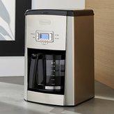 Crate & Barrel DeLonghi ® 14-cup Programmable Drip Coffee Maker