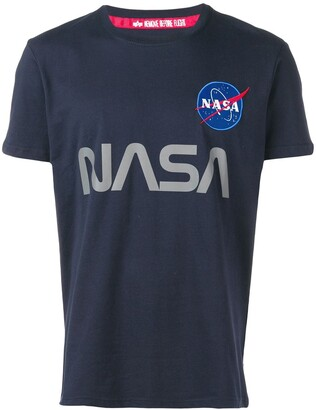 Alpha Industries x Nasa graphic T-shirt