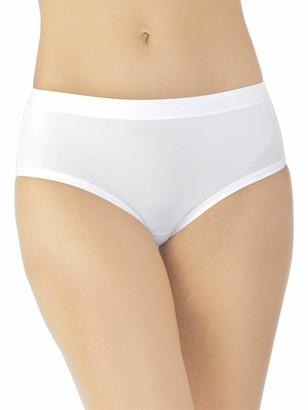 Vanity Fair Women's Comfort X3 Hip Brief Panty 18163