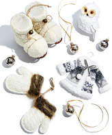 Holiday Lane Winter White Ornament Collection, Created for Macy's