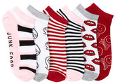 Junk Food Clothing No Show Lip Socks - Pack of 6