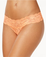 Cosabella Never Say Never Cutie Low Rise Thong NEVER03ZLVBOW