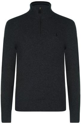 Polo Ralph Lauren Polo Half Zip Long Sleeve Sweater