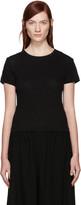 Y's Ys Black Jersey T-shirt
