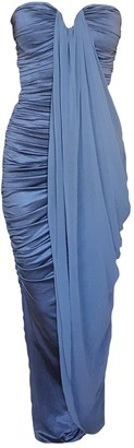 ZUHAIR MURAD Blue Synthetic Dresses