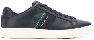 Paul Smith stripe lace-up sneakers