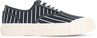 Good News Hurler 2 Striped Canvas Sneakers