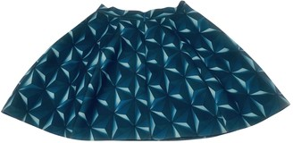 Aq/Aq Aqaq Blue Skirt for Women