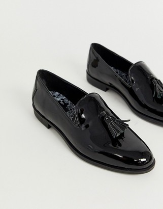 House Of Hounds House of Hounds pointer loafers in black patent