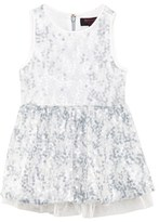 Juicy Couture Ice Blue Sequin Party Dress