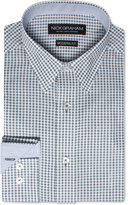 Nick Graham Men's Modern Fitted Floral Neat Dress Shirt