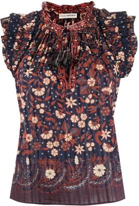 Ulla Johnson Iris floral top