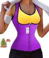 Sauna Waist Trainer - Ursexyly Hot Cincher Promotes Sweating during Exercise (L, )
