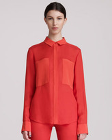 Alexander Wang Long-Sleeve Blouse