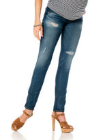 A Pea in the Pod Hudson Collin Secret Fit Belly® Destructed Skinny Leg Maternity Jeans