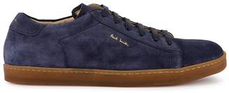 Paul Smith Huxley Navy Suede Sneakers