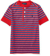 Ralph Lauren Long-Sleeved Striped Polo