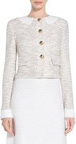 St. John Caillou Tweed Knit Jacket