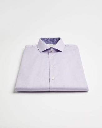 Ted Baker Cotton Semi Plain Endurance Shirt