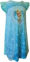 AME Sleepwear Disney Frozen Princess Elsa Be The Snow Queen Toddler Nightgown for girls