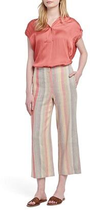 Nic+Zoe Sweetclover Pants (Orange Multi) Women's Casual Pants