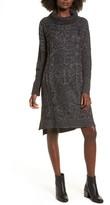Cotton Emporium Women's Chunky Turtleneck Sweater Dress