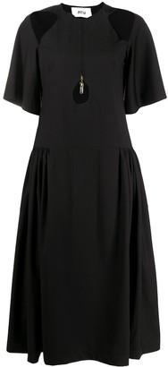 Atu Body Couture Cut-Out Midi Dress