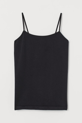 H&M Seamless Tank Top - Black