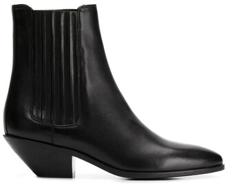 Saint Laurent heeled Chelsea boots