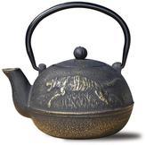 Old Dutch 22 oz. Cast Iron Tora Tea Kettle in Matte Black