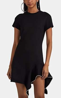 Area Women's Crystal-Embellished T-Shirt Dress - Black