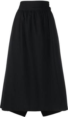 Y-3 High-Waisted Midi Skirt
