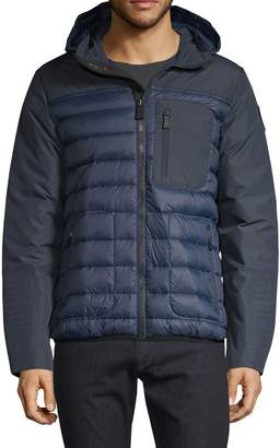 Pajar Quilted Down-Filled Hooded Jacket